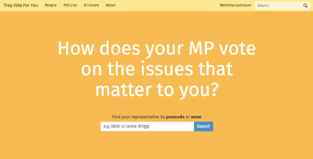 They_Vote_For_You_—_How_does_your_MP_vote_on_the_issues_that_matter_to_you_